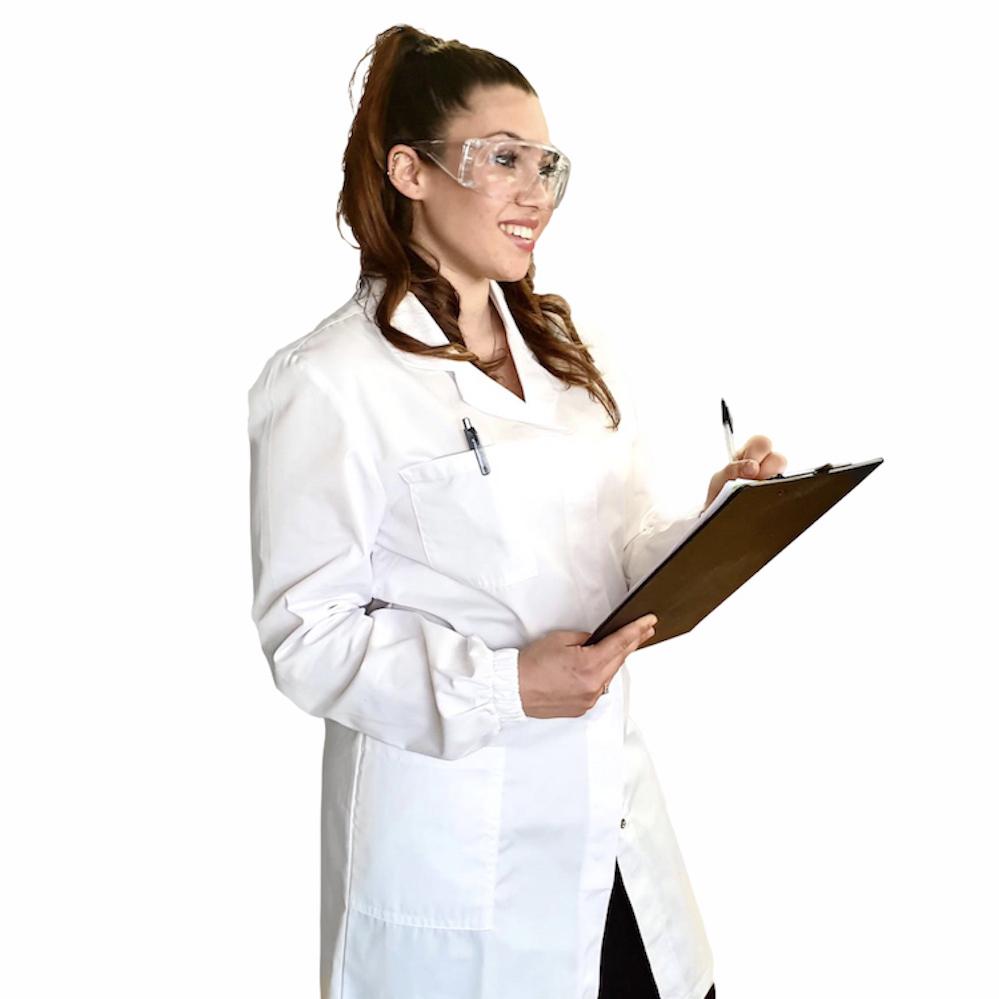 camice laboratorio di chimica